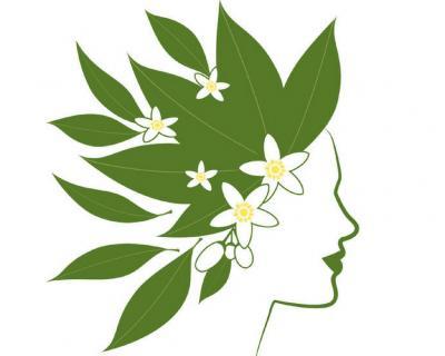 Neroli flower headpiece