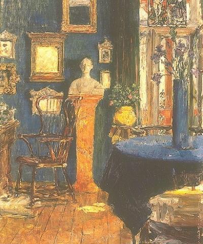 Gotthardt Kuehl Das blaue Zimmer