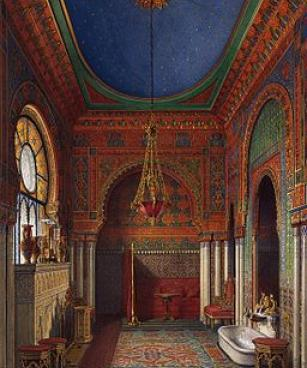 The Bathroom of Empress Alexandra Fyodorovna. 1870