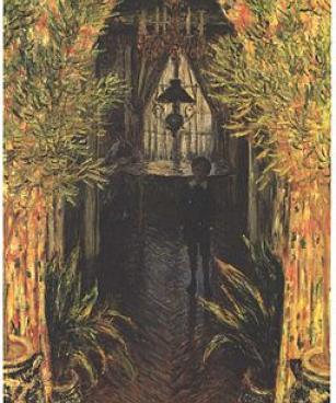 Monet - Jean Monet im Hause des Künstlers