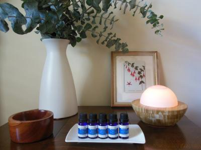 Scentcillo essential oil blends for ambient scenting.