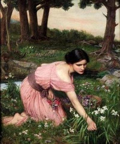Spring Spreads One Green Lap of Flowers, J.W.Waterhouse, 1910