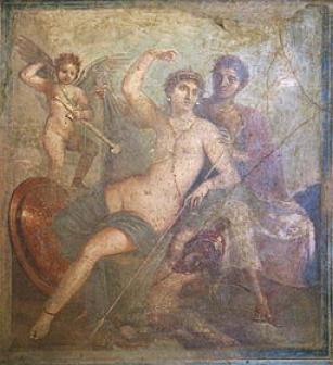 Ares e Afrodite