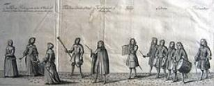 The Coronation Procession of King James II and Queen Mary of Modena (c. 1685)