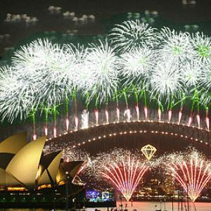 Sydney New Years fireworks
