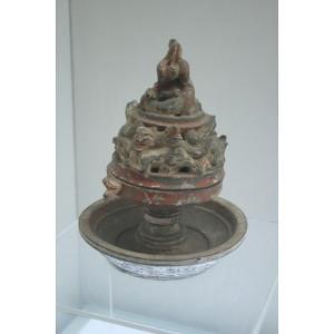 Eastern Han ceramic incense burner