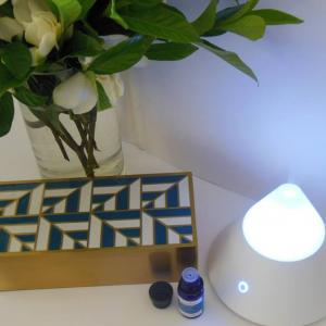 Diffusing Scentcillo essential oil blends